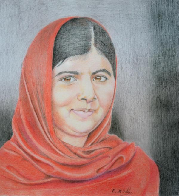 Malala Yousafzai par ktboldy